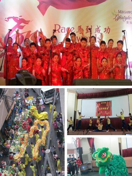 菲律宾中西学院师生参加华人春节庆祝活动