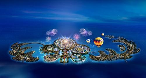 恒大投资1600亿打造人工旅游岛海南海花岛