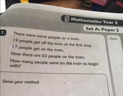 这道数学题你会做吗?外国小学题目难倒众人 图 中新网