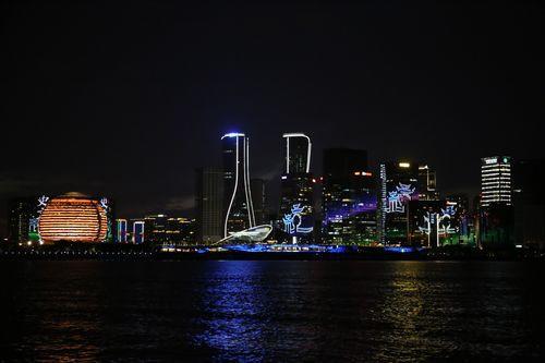 杭州钱塘江水上旅游项目启动