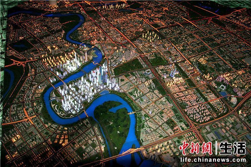 中新网高清图-天津滨海新区规划展览馆(2)