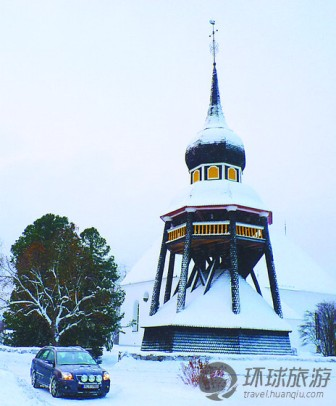 现在我们看到的瑞典木钟塔多半是孤塔