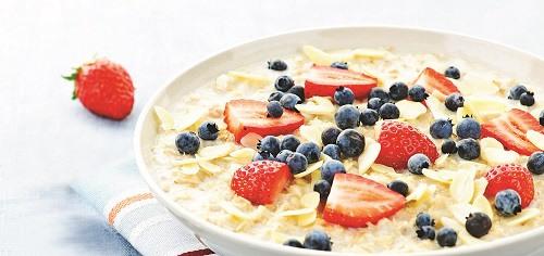 留英学子爱上麦片早餐