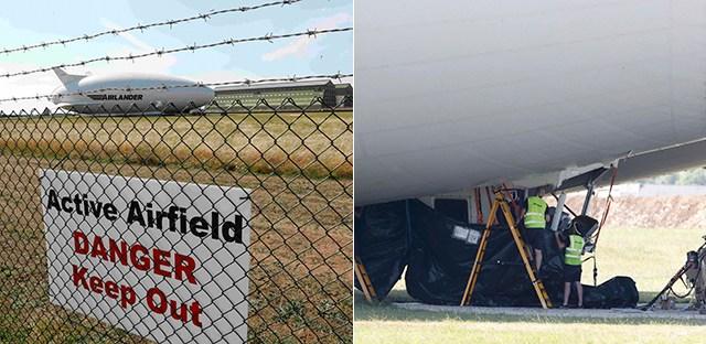 心塞!世界最大飞行器试飞7天撞电线杆