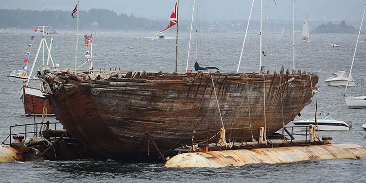 沉没80年的极地探险船将建成博物馆