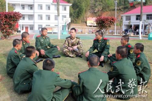 武警泰宁森林大队三中队广泛开展谈心交心活动