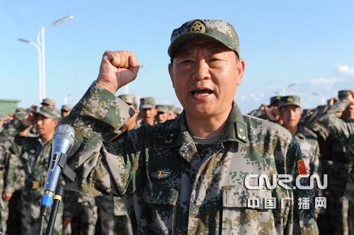 北京衛戍區司令員潘良時少將