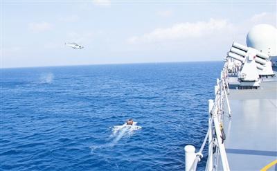 马航客机仍失联原因_中国海空力量在马航客机疑似失联海域展开立体搜救