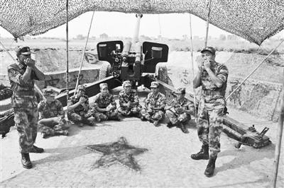 厦门警备区某炮兵团开展文体活动丰富官兵生活