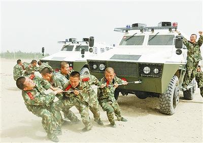 新闻中心 军事新闻    武警8644部队二连官兵克服驻训地活动场地受限