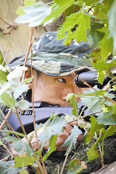 第13届世界军警狙击手射击锦标赛三冠王:心静