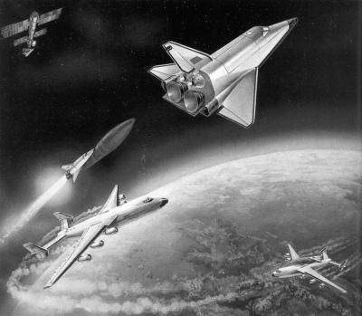 """""""以前航天飞机"""