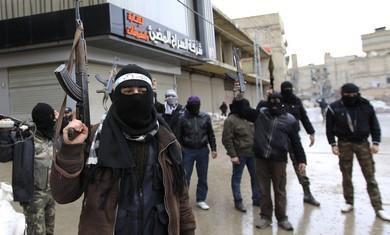 """美军开始训练叙利亚反对派武装抗击""""伊斯兰国"""""""