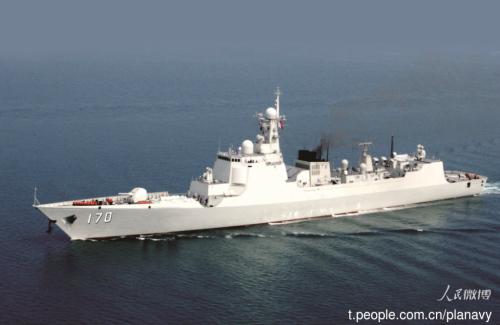 中马9月下旬在马六甲海峡军演中华神盾舰参加