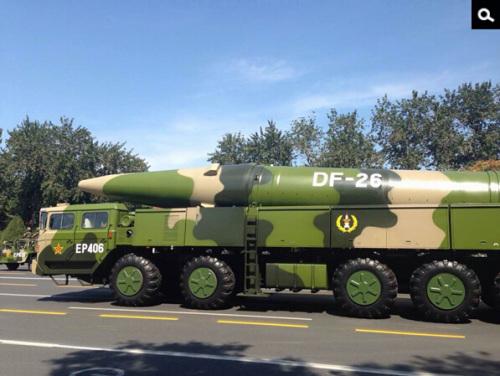 美媒:中国导弹射程覆盖关岛或打破美围堵战略