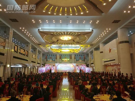 国防部举行2017年新春招待会