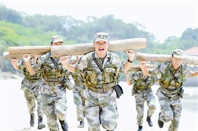 海防步兵训练实现特战化:脑中绷紧打仗这根弦