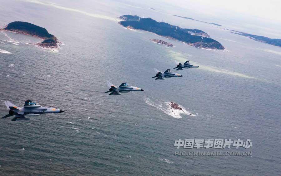 济空航空兵飞豹战机实施实弹突击训练- 中国