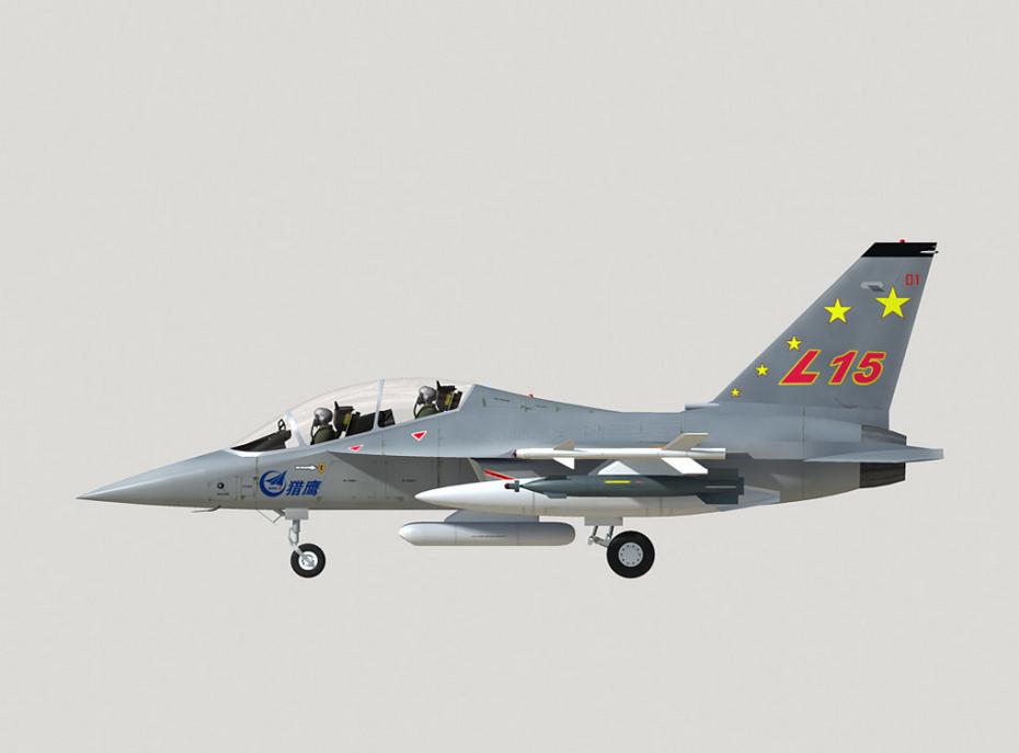 中國教練10「獵鷹」L-15教練機