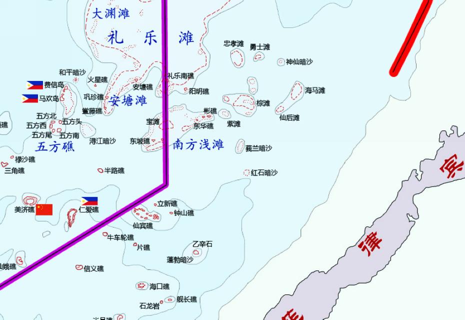 人民网北京5月23日电 (张洁娴)据法新社报道,菲律宾21日表示,已就中国军舰非法进入南沙群岛中的仁爱礁对中方提出抗议。中国社会科学院海疆问题学者王晓鹏在接受人民网记者采访时表示,中国外交部于4月披露被菲律宾侵占的8个南海岛礁中,并没有提及仁爱礁,表明仁爱礁处于中国的实际控制之下。    另一方面,菲方近日宣布将掷重金提升海军配备,海军专家李杰则指出,此举并不会对菲军力的提升产生实际作用。    中方实际控制,菲方虚张声势    据王晓鹏分析,菲律宾此举主要出于三方面原因:一是中国外交部于4月披露被菲律
