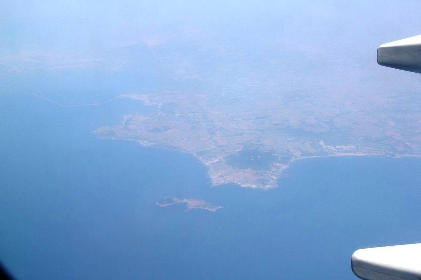 最新曝光:飞机航拍中国青岛航母军港全貌