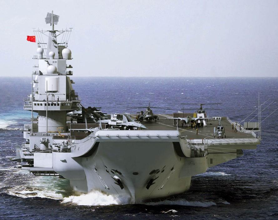 2015年中国海军航母编队海空联合演习畅想-中新网