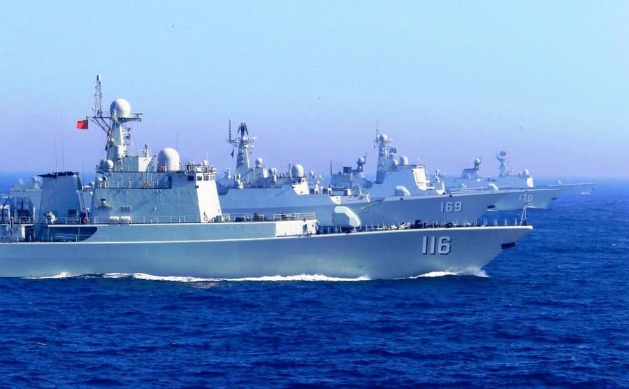 藍水海軍不是夢!中國現有五支編隊在全球航行