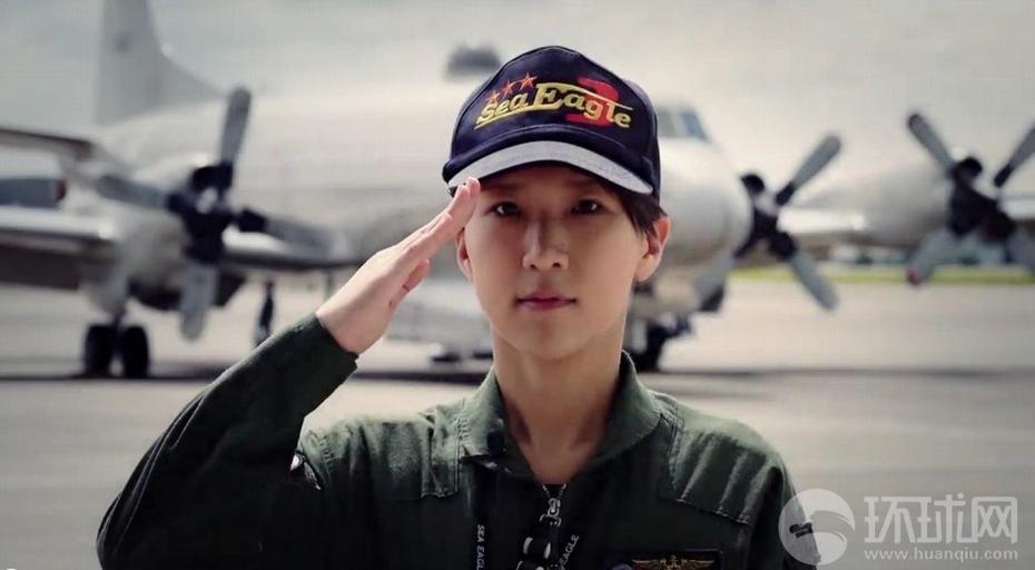 日本P 3C美女飞行员获评海自队小姐