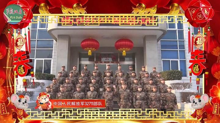 简单!直接!硬核!这是中国军人的新春祝福
