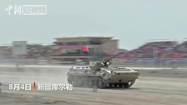 国际军事比赛 看中国战车霸气涉水越障