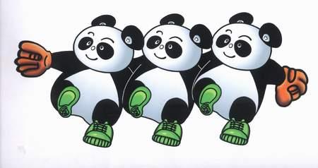 因此就目前态势来看,大熊猫申请北京奥运会吉祥物领先于其他对手,成功图片