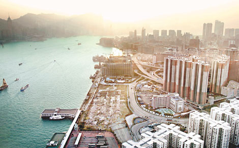发展商决定将香港红湾半岛七幢全新楼宇拆卸重建