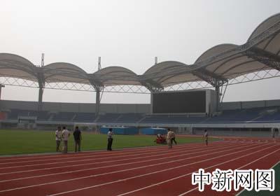 图:秦皇岛市奥体中心足球场
