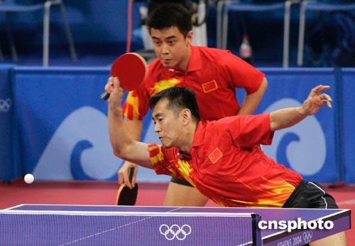 男双输球 乒乓球总教练蔡振华叹:老瓦打得太好