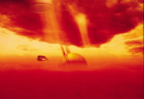 惠更斯 着陆声低沉 专家料土卫六表面为橙色