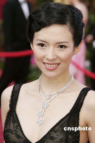 中国著名女演员章子怡获邀任奥斯卡奖评委(图