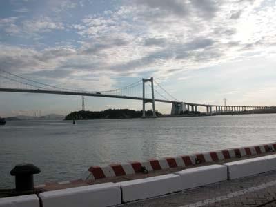 图:厦门海沧大桥风采