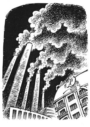 上海奥特斯工厂被指每晚偷排黑色气体