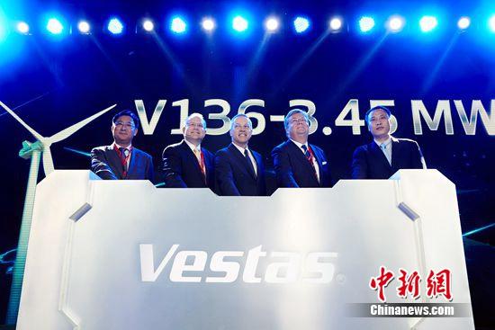维斯塔斯进入中国市场30周年将引入最大陆上风机
