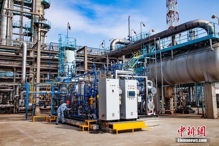 国内首次将炼厂副产氢气提纯至99.999% 远高于...