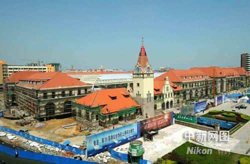 迎接奥帆赛 青岛火车站扩建工程进展顺利(图)