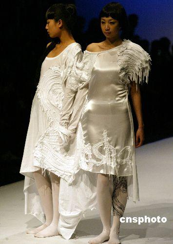 北京服装学院服装设计展示大胆前卫(4)