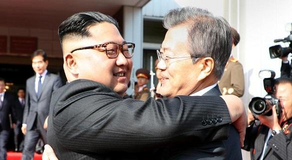 韩朝首脑再次会晤 特朗普仍希望6月12日见金正恩