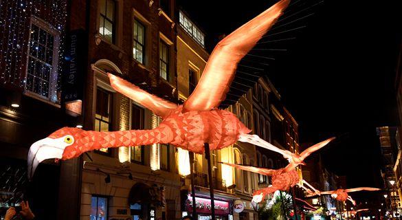 伦敦灯光艺术节:静动之间 感受光与影的盛宴