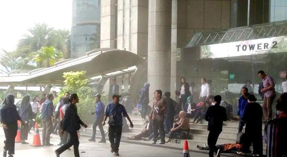 印尼证交所楼层坍塌致70余人伤 初步调查排除恐袭