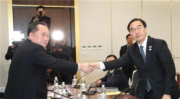 韩朝将举行工作会谈 商朝方参加平昌冬奥会细节