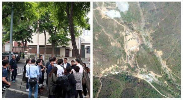 多国记者团赴朝见证拆除核试验场 韩记者被拒