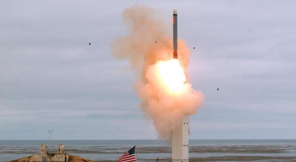 美国试射新陆基中程导弹 曾在《中导条约》禁止范围