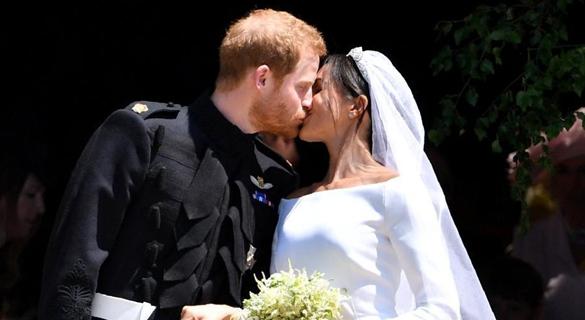 哈里王子夫妇完婚后返伦敦执行公务 未直奔蜜月地