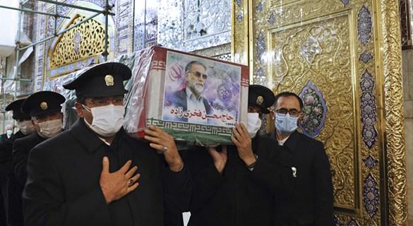 """首席核科学家遭暗杀后 伊朗通过这项法案""""报复"""""""